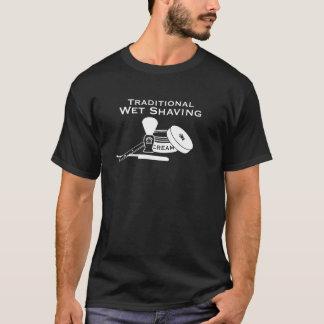 Camiseta Lâmina reta de rapagem molhada tradicional - T