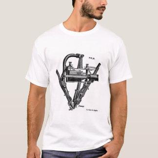 Camiseta Lâmpada elétrica das conversão