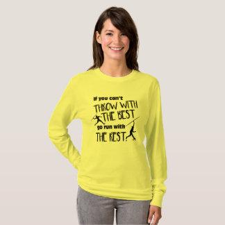 Camiseta Lance de dardo com a luva longa das Melhores