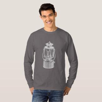 Camiseta Lanterna de acampamento do vintage