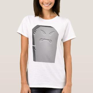 Camiseta Lápide irritada do Dia das Bruxas