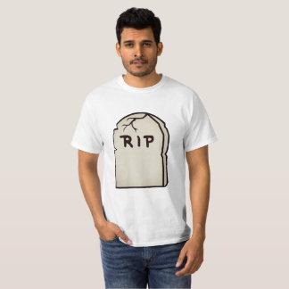 Camiseta lápide R.I.P