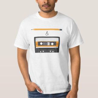 Camiseta Lápis & crivo compacto da gaveta