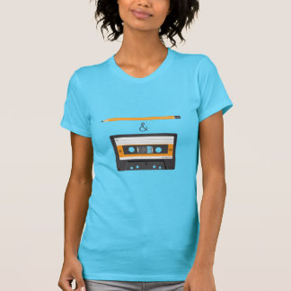 Camiseta Lápis & gaveta compacta