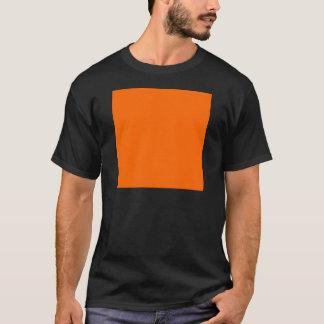 Camiseta Laranja da cor da Web do código do Hex #FF6600