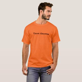 Camiseta Laranja da equipe