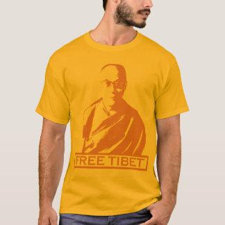 Camiseta laranja de Dalai Lama