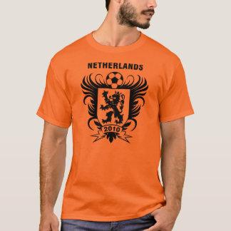 Camiseta Laranja de Países Baixos 2010