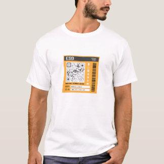 Camiseta Laranja emocional do dispositivo do apoio