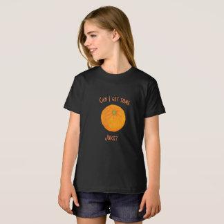 Camiseta Laranja grande