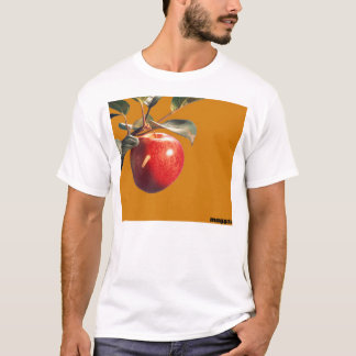 Camiseta Larva em Apple de Adam (restaurante do
