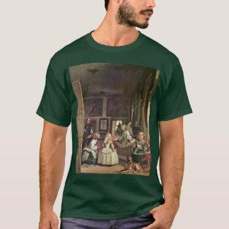 Camiseta Las Meninas (retrato de auto com a família real)