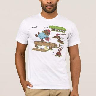 Camiseta Lasca o fã do no. 1 do castor