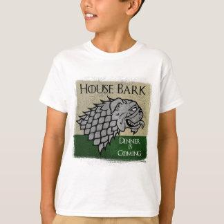 Camiseta Latido da casa - o comensal está vindo