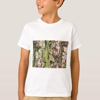 Camiseta Latido de pinheiro da costa leste molhado da chuva