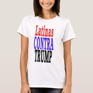 Camiseta LATINAS contra o trunfo, Latinas contra o trunfo