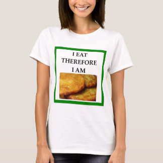 Camiseta latkes