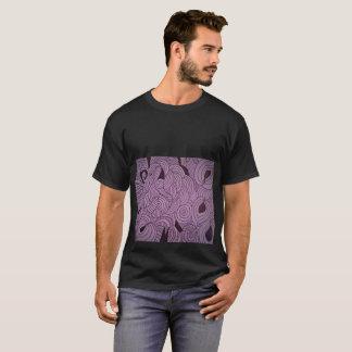 Camiseta Lavanda da formação do éter