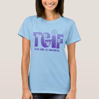 Camiseta Lavanda fantástica da menina de TGIF