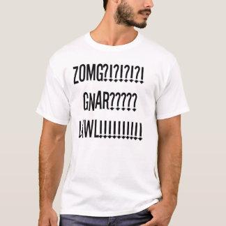 Camiseta lawl gnar do zomg