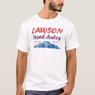Camiseta Lawson usou automóveis