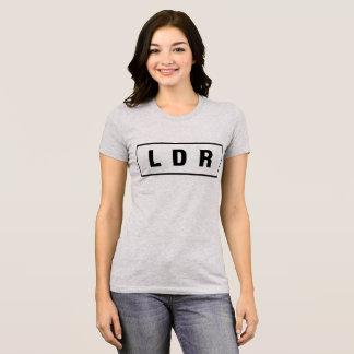 Camiseta LDR do t-shirt, relação interurbana, T do tumblr