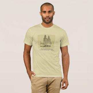 Camiseta LDS e citações da bíblia com o Tshirt do templo