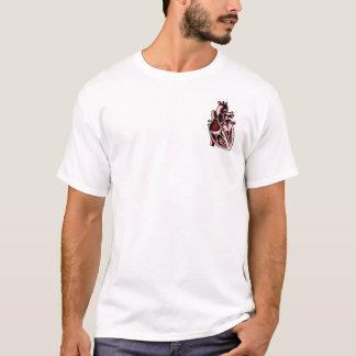 Camiseta Le coeur um ne do raison do la do que dos raisons