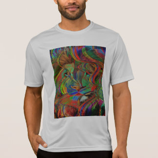 Camiseta Leão abstrato