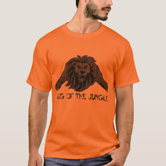 Camiseta leão-camisa, REI SELVA