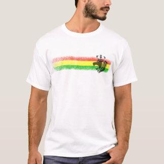 Camiseta Leão coroado reggae de Rasta