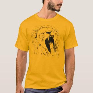 Camiseta Leão de bocejo