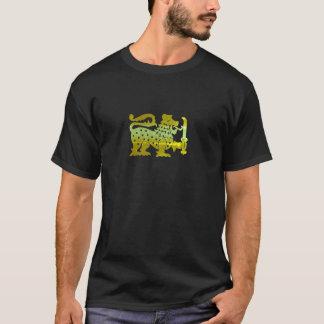 Camiseta Leão de Ceilão do ouro