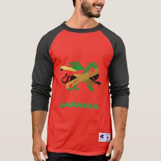Camiseta Leão de Judah, bandeira jamaicana