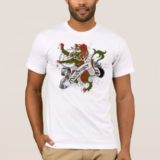 Camiseta Leão do Tartan de MacGregor