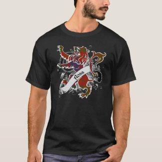Camiseta Leão do Tartan de Ross