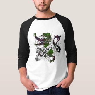 Camiseta Leão do Tartan de Sutherland