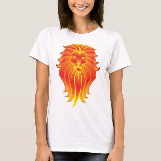 Camiseta Leão do verão