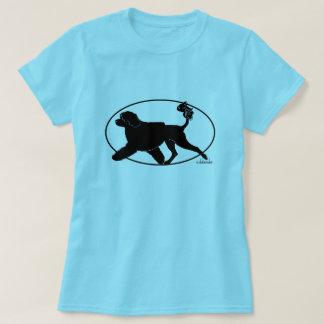 Camiseta Leão português de Gaiting do cão de água