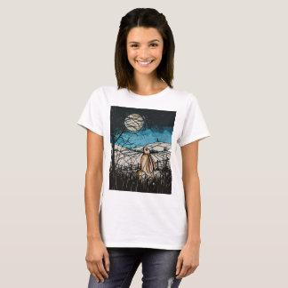 Camiseta Lebre do Gazer da lua