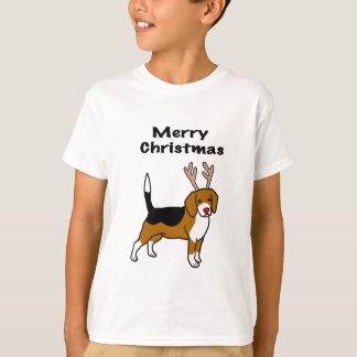 Camiseta Lebreiro do Natal da rena
