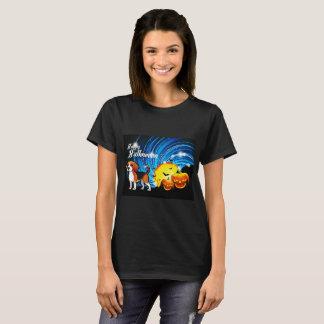 Camiseta Lebreiro o Dia das Bruxas feliz
