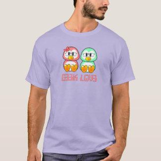 Camiseta Leet fala namorados do geek