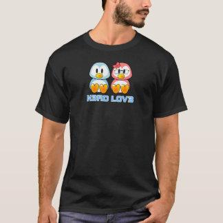 Camiseta Leet fala namorados do nerd