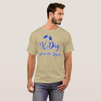 Camiseta Legado do dia de K