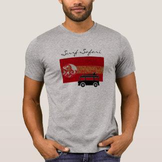 Camiseta legal do cinza do safari do surf para