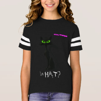 Camiseta legal do gato preto