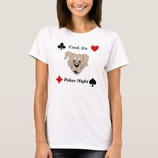 Camiseta Legal, é noite do póquer