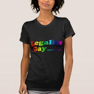Camiseta Legalize o gay