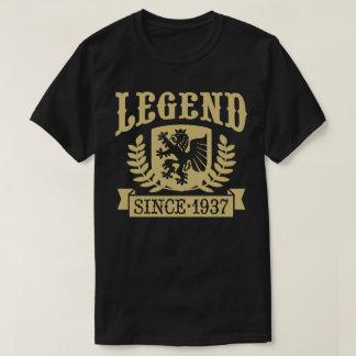 Camiseta Legenda desde 1937